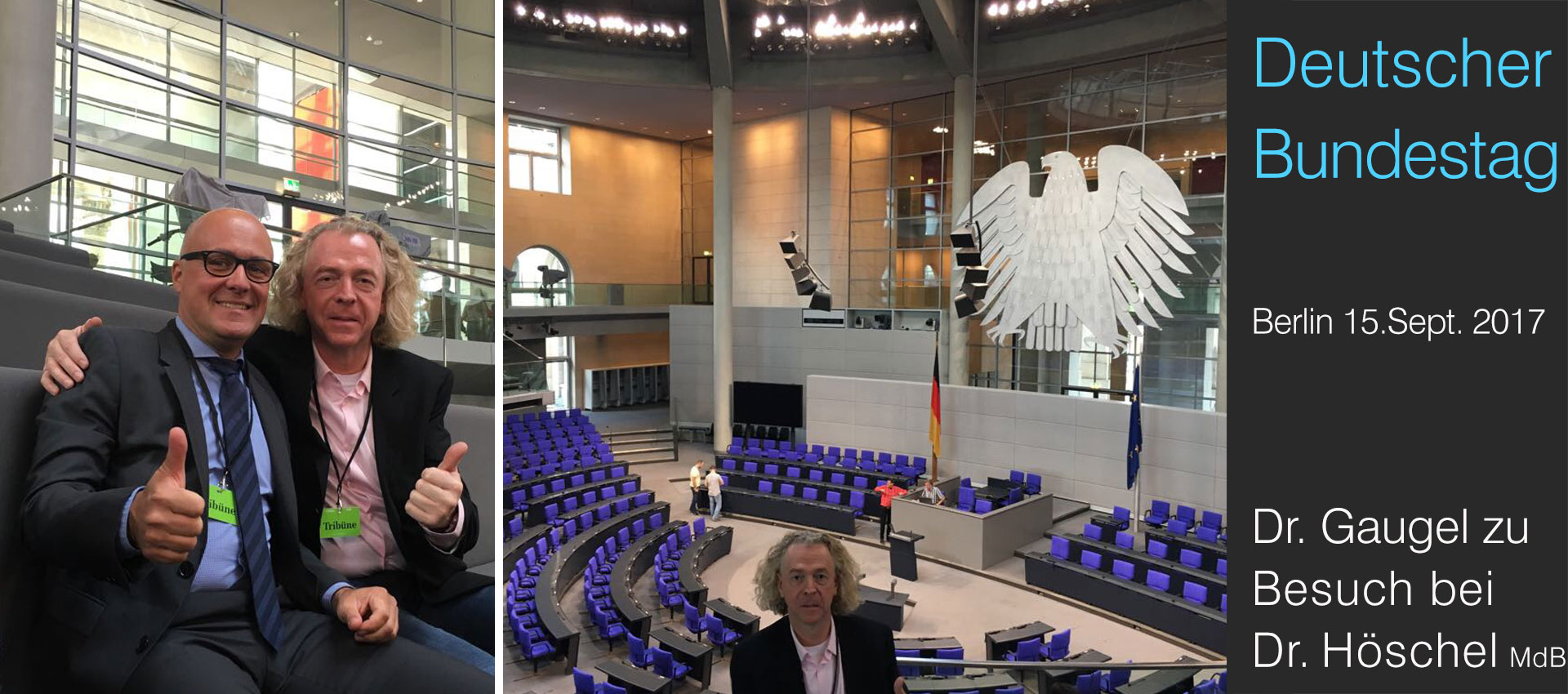 Dr. Gaugel im Bundestag, Berlin